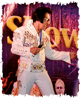 North Florida Elvis Impersonator and Tribute Artist by Ted McMullen appears at weddings conventions festivals corporate events restaurants private parties and more.